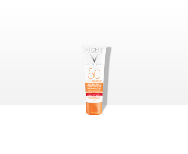 Anti-Age 3-in-1 -aurinkovoide SPF50