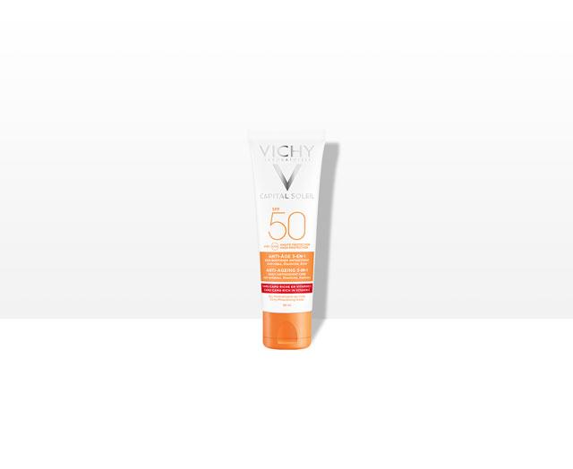Anti-Age 3-in-1 -aurinkovoide SPF50