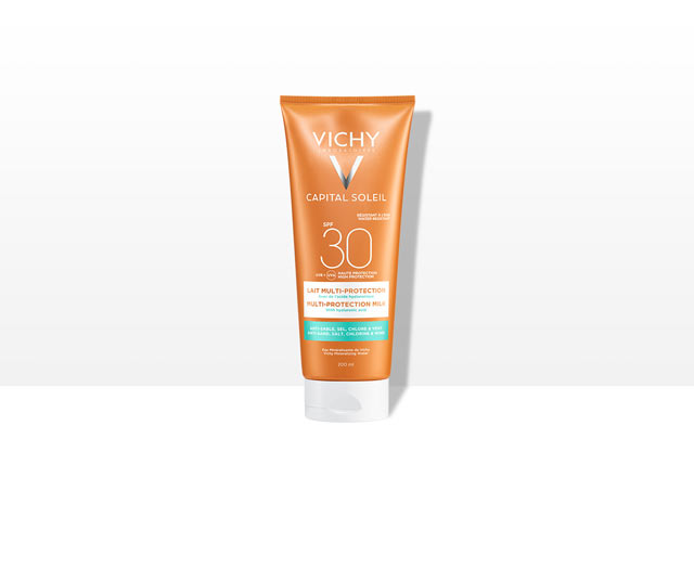 Beach Protect - Multi-protection Milk -aurinkosuojavoide, SPF 30