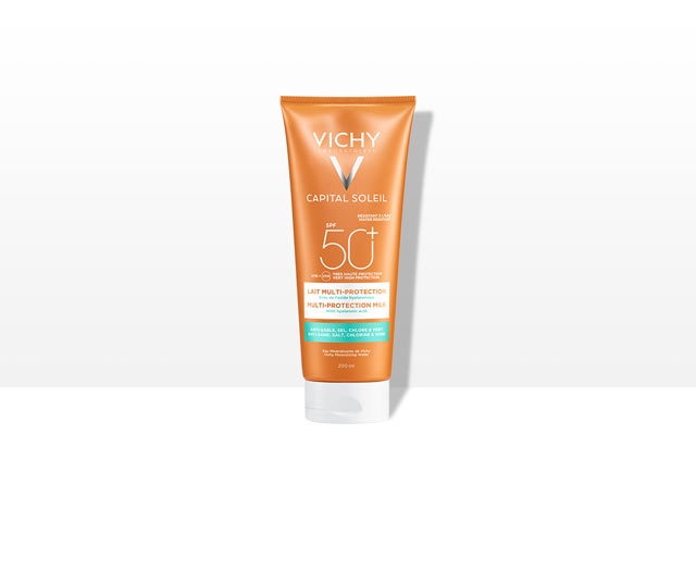 Beach Protect - Multi-protection milk -aurinkosuojavoide, SPF 50+
